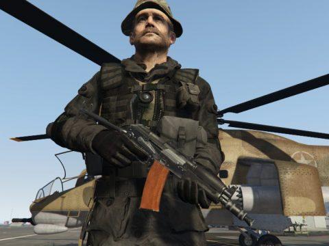 Modern Warfare Remastered AK-74u [2K | HP | Full Animated]