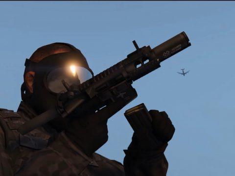 Custom M4 Pistol (Fighting Cat)
