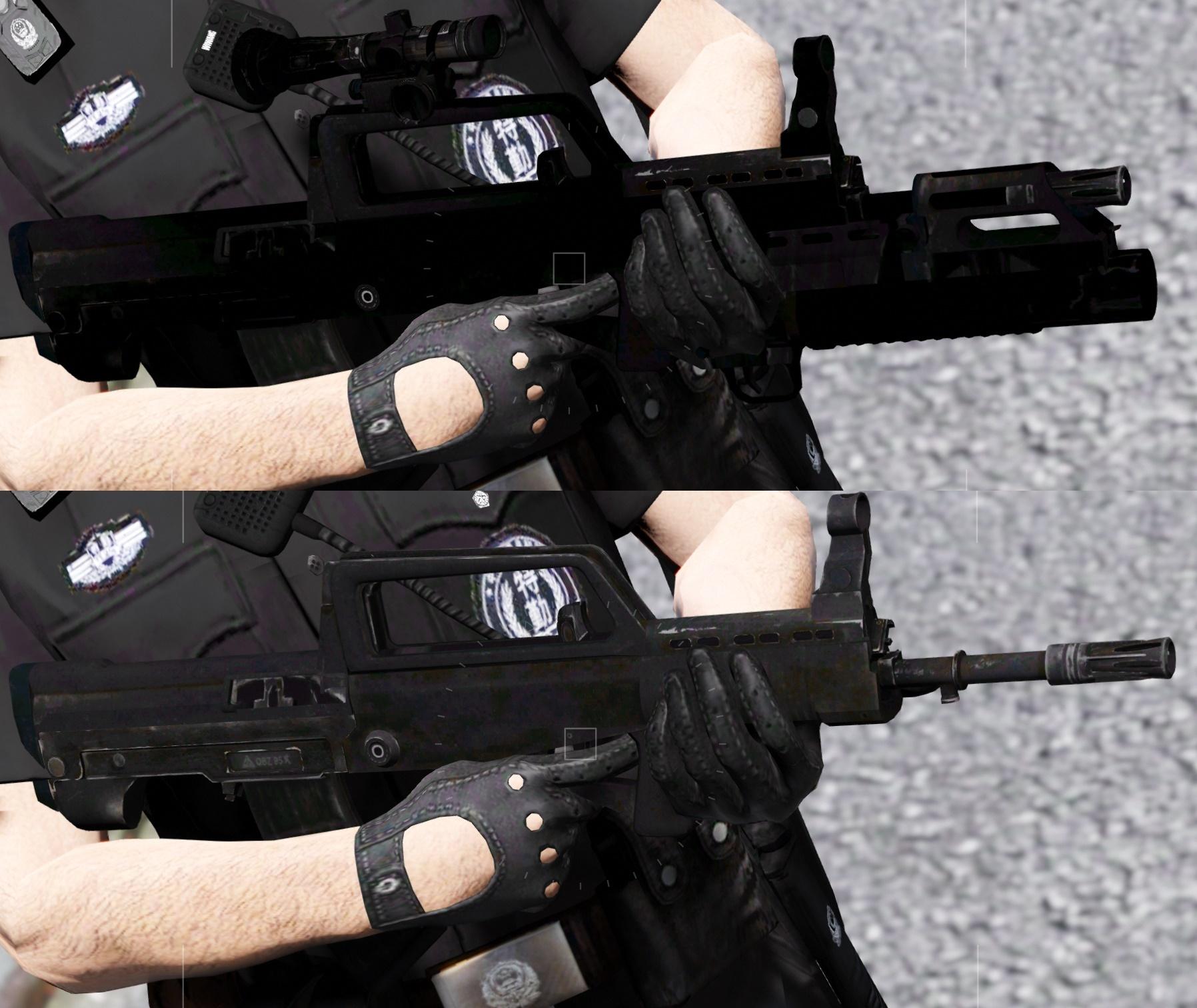 QBZ-95 Weapon