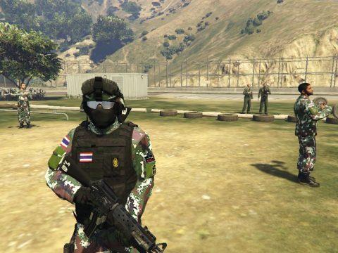 M16+M203 Royal Thai Armed