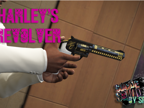Suicide Squad Harley Quinn's Revolver 2.0