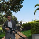 Assault rifle from beta version