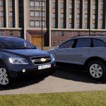2006 Chevrolet Captiva LS C100 (Civilian/police unmarked NO ELS) [Add-on/Replace/Extras/EU & RU Plates] General Motors Theta 1.0