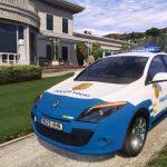 2009 Renault Megane Policia Local Canaria [Replace/ELS] 1.0