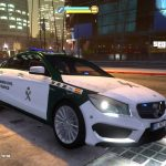 2014 Mercedes CLA 45 Amg Guardia Civil Trafico (spain traffic police) [Replace/ELS] 1.0