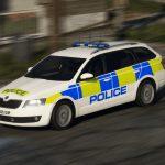2015 Police Skoda Octavia Combi [ELS] 1.0