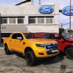 2016 Ford Ranger [Add-on/replace/trailer/livery/template] 1.0
