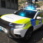 2018 Fictional Police Mitsubishi Outlander v1.1