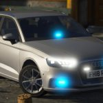 2018 Unmarked Police Audi A3 [ELS] 1.0
