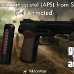 Survarium Stechkin automatic pistol (APS) [Full Animated]