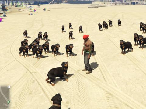 Dog Attacker Mod 1.0