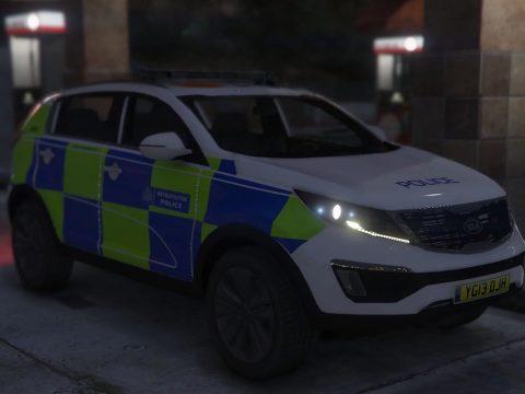 Kia Sportage Metropolitan Police [Add-On   Non-ELS] 1.5