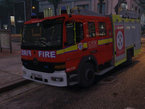 London Fire Brigade MK1/MK2 Atego Pack 1.0