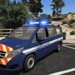 Mercedes Vito 2017 Gendarmerie 1.0
