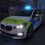 Metropolitan Police BMW 218i IRV/Qcar Pack