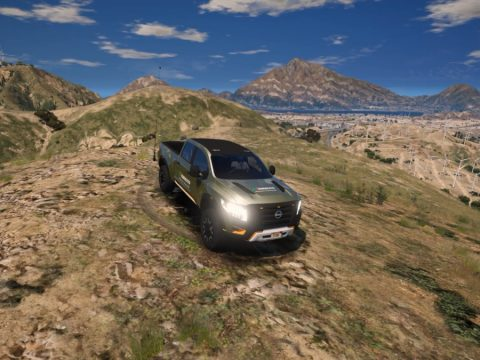 Nissan Titan Esercito Italiano (Add-on) 1.0