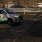 Portuguese Republican National Guard - Toyota Hilux [ AddOn / Refletive ] 1.0
