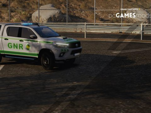 Portuguese Republican National Guard - Toyota Hilux [ AddOn / Refletive ] 1.0