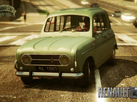 RENAULT 4 [Add-On / Replace | LODS] 1.0