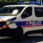 Renault Trafic 2015 Police Nationale [Replace / Add-on / Reflective] 0.1