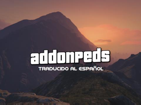 AddonPeds [Traducido al Español + F9 activation] 3.0