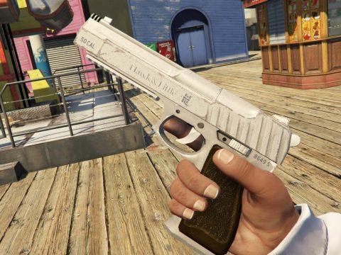 [TINT] White Pistol .50