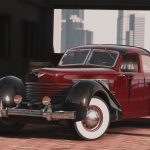 1937 Cord 812 Charged Beverly Sedan [Add-On | LODs | Extras] 1.1