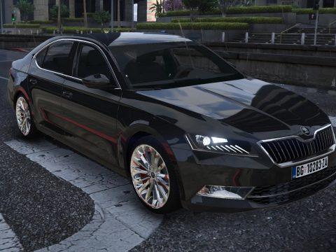 2015 Skoda Superb [Add-on | Replace | LODs | Wheels] V1.0