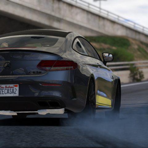 The AMG GTS Test V8 510hp 310km/h