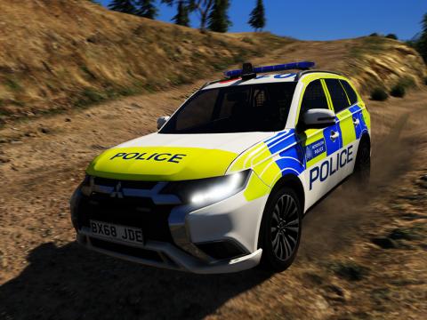 2018 Metropolitan Police Mitsubishi Outlander (Royal Parks + Response) 1.00
