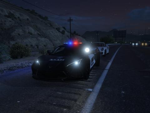 2020 Chevrolet Corvette C8 Police [Add-On|Unlocked] 1.0