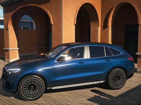 2020 Mercedes-Benz EQC400 [Add-on] 1.1