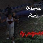 Disarm Peds