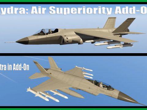 Hydra: Air Superiority [Add-On] 1.1 [Add-On]
