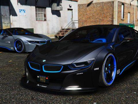 BMW I8M Liberty Walk [Add-On] 1.1