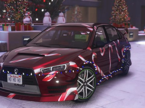 Christmas Kuruma [Add-On   Tuning   Liveries   LODS] 1.0