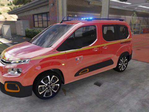 Citroën Berlingo 2019 Sapeurs-Pompiers VL 1.0