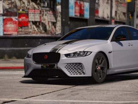 Jaguar XE SVR Project 8 [Add-On] 1.0.2