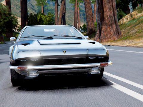 Lamborghini Jarama '76 [ Add-On   Animated Lights   Extras   Dirt ] 1.0