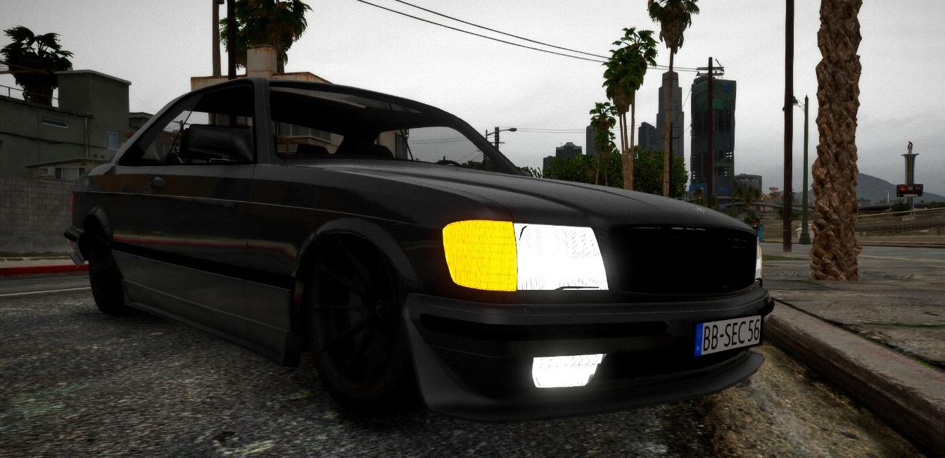 Mercedes-Benz 560SEC AMG 2.2