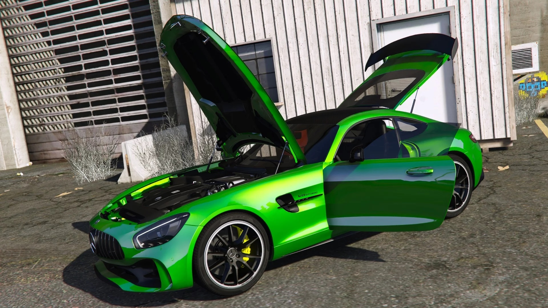 Mercedes-Benz AMG GT R 2017 [Add-On / Replace | Template