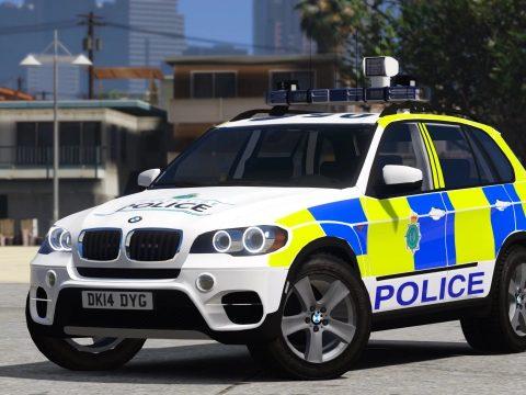 Merseyside Police BMW X5 E70 (Traffic - 2013) 1.0