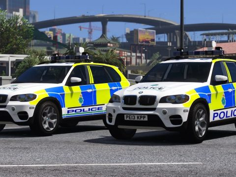 Merseyside Police BMW X5 E70 Pack (Armed Response - 2011/2013) 1.0