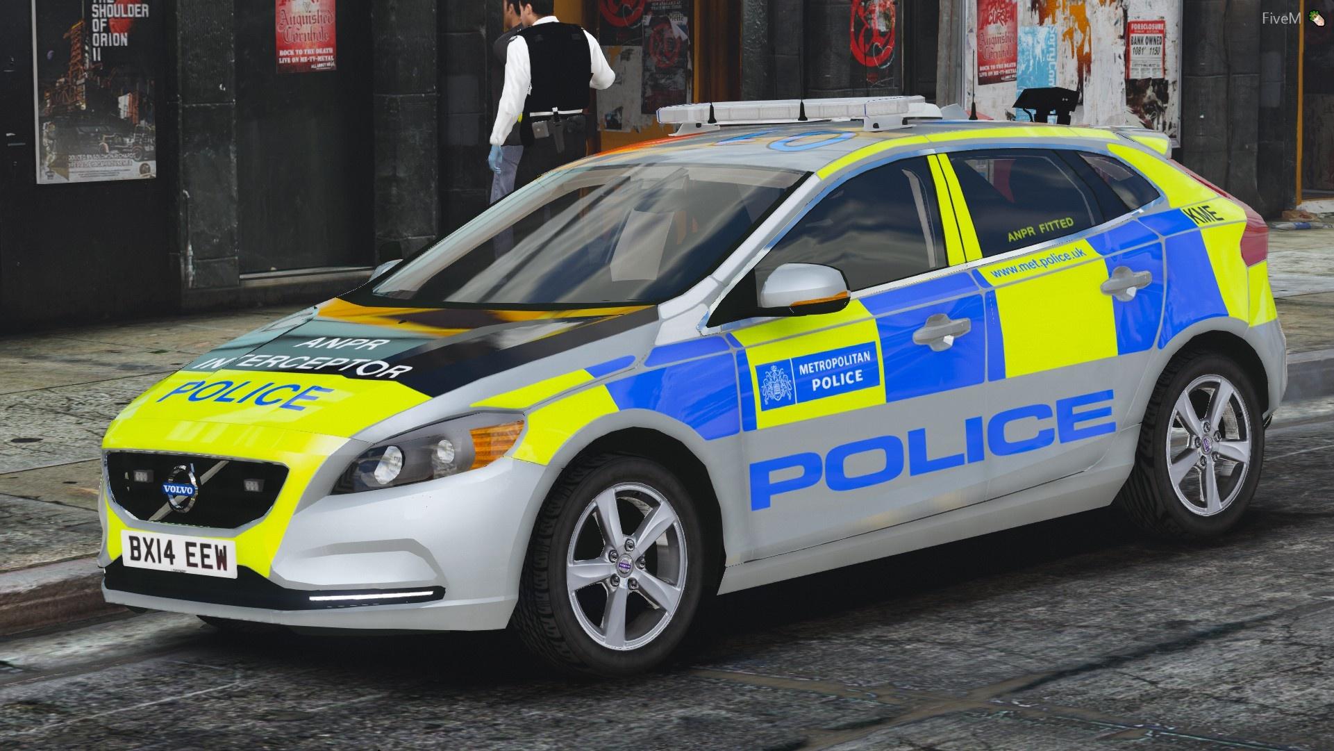 Metropolitan Police 2014 Volvo V40 Pack 1.0