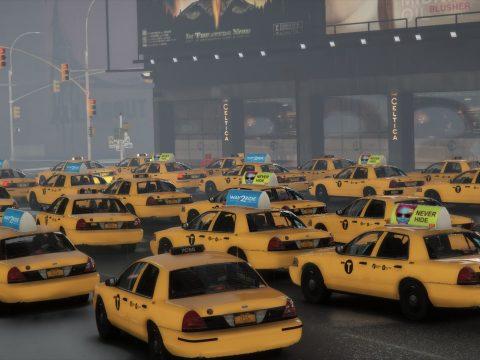 NYC Taxi 2000 Crown Victoria 1.05