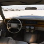 Police Ford LTD Crown Victoria 1987 [ Replace   Snow ] 1.0