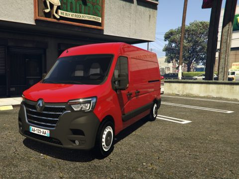 Renault Master L2H2 2019 [ADD-ON / REPLACE] [UNLOCKED] 1.2