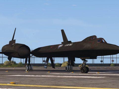 SR-71B Blackbird Trainer Aircraft [Add-On | Tuning] 1.0