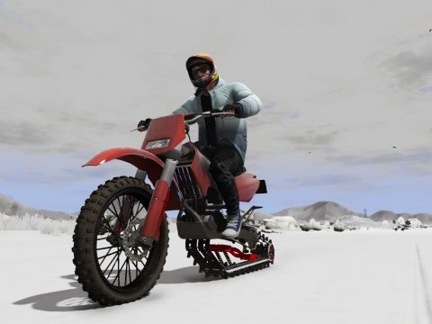 Snow Bike Snow Bike V1