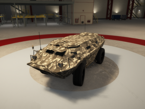 Unarmed APC [REPLACE] 1.0